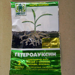 Приготовление растворов на основе гетероауксина