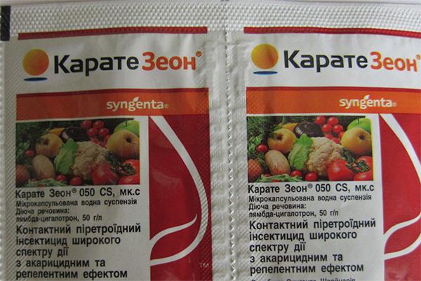 каратэ зеон инструкция по применению для капусты