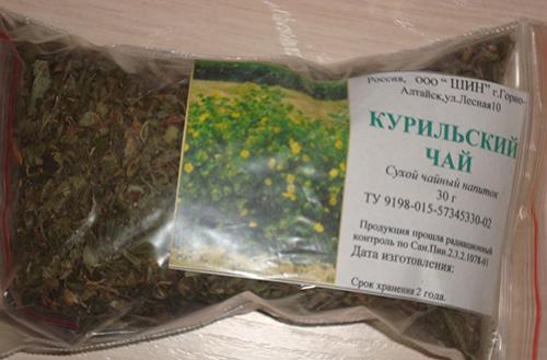 Заготовка курильского чая в домашних условиях 914
