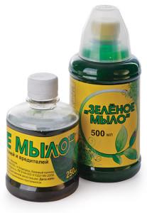 Зеленое мыло от вредителей