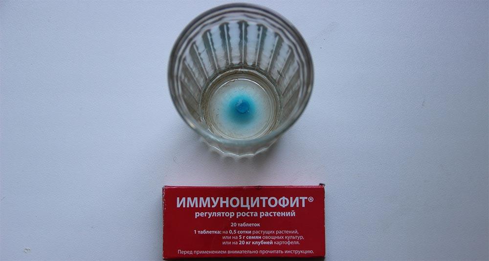 Приготовление препарата Иммуноцитофит.