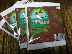 Применение препарата Атлет